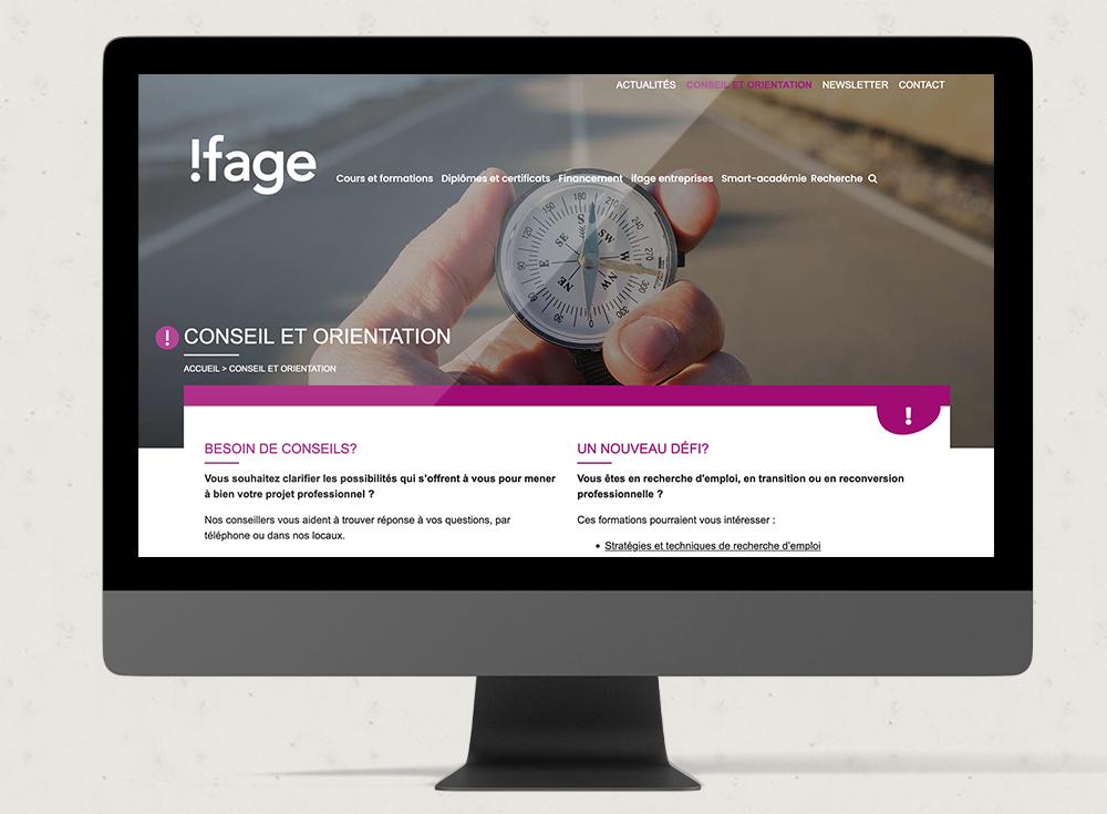 Ifage - Web Romandie
